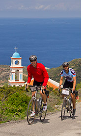 Greece biking photo